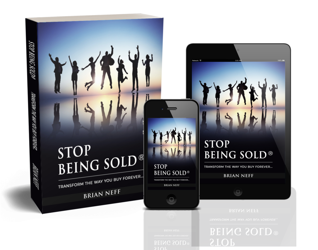 STOP BEING SOLD book